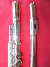 MÖNNIG Deutsche Vollsilber Profi Querflöte handgemacht (Hammig) silver flute