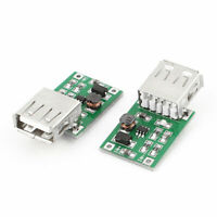 2 Pieces DC-DC Converter Step Up Boost Module 0.9V to 5V USB Charger