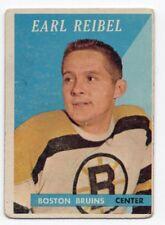 1X JOHNNY JOHN BUCYK 1958 59 Topps #40 VG- Boston Bruins