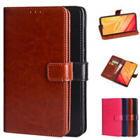 Dooqi Luxury PU Leather Wallet Card Flip Stand Cover Case For OnePlus 6