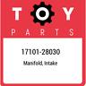 17101-28030 Toyota Manifold, intake 1710128030, New Genuine OEM Part