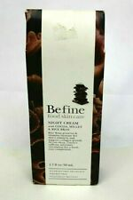 Befine Food Skin Care Night Cream with Cocoa, Millet and Rice Bran 1.7 fl oz.