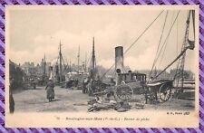 Boulogne sur Mer - Retour de pêche