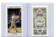 2018 TED WILLIAMS, BOSTON RED SOX, 1900 KINNEAR TOBACCO STYLE ACEO CUSTOM CARD