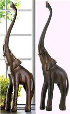 """3 Foot Tall Luck & Wisdom Art ** 34.8"""" JOYOUS ELEPHANT STATUE SCULPTURE ** NIB"""