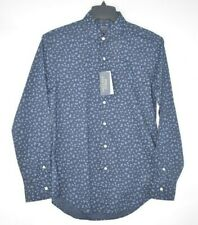 NEW Polo Ralph Lauren Men's Slim Fit Long Sleeve Button Down Navy Floral Shirt M