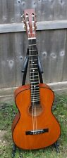 ACOUSTIC GUITAR RARE RUSSIAN CZECHOSLOVAKIA OLD WOODEN ACOUSTIC GUITAR LOFT FIND