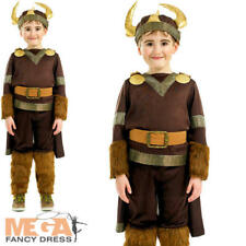 Fun Shack Child Deluxe Viking Warrior Costume - Age 8 - 10 Yrs L