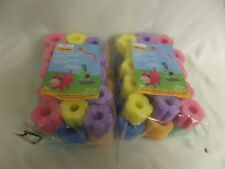 Lot Of Creatology Crafitivities Foam Noodle Shapes Floral New
