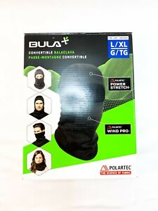 Bula Convertible Balaclava Polartec Power Stretch Wind Pro - Size L/XL