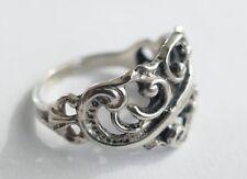 Ring filigrane Arbeit 800 Silber Vintage 30er Ring silver