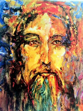 """""""Jesus"""" by Duaiv-Limited Edition Lithograph- Signed/Numbered by Artist #194/300"""