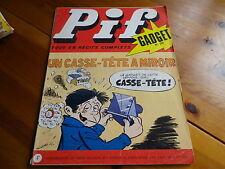 PIF GADGET n° 196 de 1972 sans gadget, avec Dr JUSTICE, bon état, voir photo