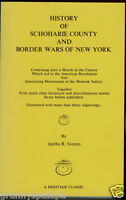 History Schoharie County and Border Wars of New York-Simms-Reprint-Volume 2 Only