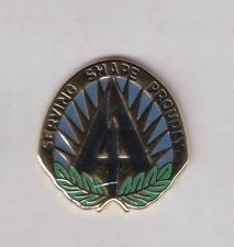US Army Supreme Headquarters Allied Powers Europe SHAPE crest DUI badge V-21