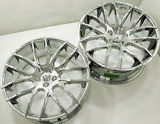 GIOVANNA KILIS 20 x 8.5 / 10 CHROME RIMS WHEELS MASERATI QUATTROPORTE +38