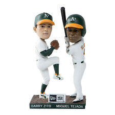Oakland A's Barry Zito And Miguel Tejada Dual Bobbleheads - New - Free Shipping