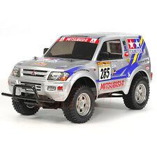 Tamiya CC-01 Mitsubishi Pajero Rally Clear Body EP 1:10 RC Cars Truck #11825846