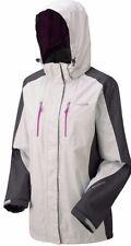 New Women's Regatta Calderdale Waterproof Jacket Light Steel / Iron UK 10 EUR 36