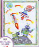 My Robot Quilt - pieced & applique quilt PATTERN - Passionately Sewn