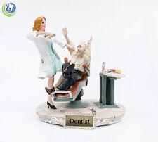 Female Blonde Dentist Large 3D Office Decorative Figurine Statue
