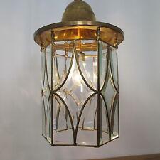 Original Jugendstil Hallen Laterne vintage lantern lamp art nouveau um 1900/1920