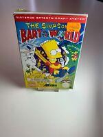 Nintendo NES The Simpson Bart Vs The World Pal B SCN-CIB