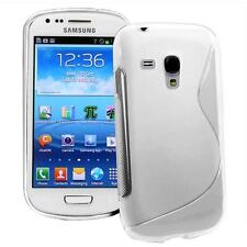 FUNDA PROTECTOR FLEXI GEL SAMSUNG GALAXY S3 MINI I8190 S-LINE TRANSPARENTE