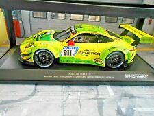 PORSCHE 911 991 GT3 R 24h Nürburgring 2017 Manthey Grello #911 L Minichamps 1:18