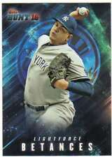2016 Topps Bunt Baseball (Physical) Light Force #LF-4 Dellin Betances Yankees
