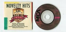 Vintage NOVELTY HITS 3-INCH cd-maxi 1989 MCA 4-tr Pat Boone Johnny Cymbal Barry