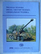 ZTS - Special Military Technics - Slowakei-Prospekt Brochure 1998?