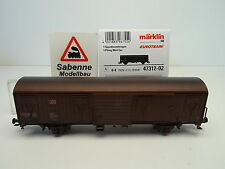 Märklin 47312-02 spundwandwagen BGS 256 DB AG vieilli neuf dans sa boîte c40 Spécial Modèle