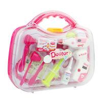 1Set Toy Medical Kit Kids Pretend Play Dentist Doctor Kit Playset USA