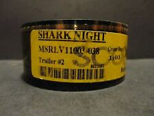 SHARK NIGHT 2010 Documentary 35mm movie trailer film cell original collectible