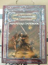 Miniatures Handbook - D&D 3.5 JEU DE ROLE Donjons et Dragons