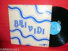 BRIVIDI LP 1973 Scat Bossa Psych Jazz TOP Rare Library OST MINT-