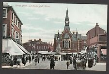 Postcard Luton Bedfordshire early George Street and Market Hall by local Deacon