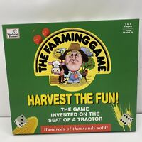 The Farming Game Harvest the Fun Board Game UNPUNCHED and COMPLETE 1996
