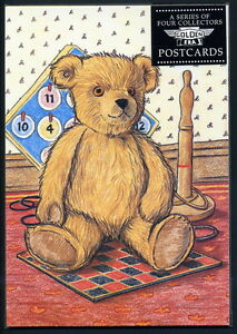 Teddybär Postkarten Set Mit 4 - Chad Valley, Dean Rag Buch Co Woolworth's