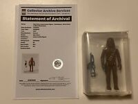 🔥 VINTAGE 1977 STAR WARS 🔥 CHEWBACCA 🔥 ACTION FIGURE LOOSE GRADED CAS 85 🔥