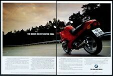 1993 BMW R1100RS Boxer red motorcycle photo vintage European print ad