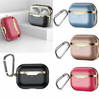 Leather Case Cover Housse Coque Etui de Protection Pour New Airpods Pro Earbud H