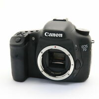 [Near Mint] Canon EOS 7D 18.0MP Digital SLR Camera Black w/ Charger
