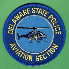 DELAWARE STATE POLICE AVIATION SECTION SHOULDER PATCH
