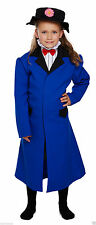 Costumi e travestimenti blu vestiti in poliestere per carnevale e teatro per bambine e ragazze