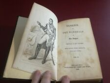 Napoleon and the Marshals of the Empire Volume II 1848 First 1st Edition Plates