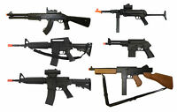 Mixed LOT of 6 Airsoft Guns/Rifles --- M16/M4/M1/Thompson/Pistol/1911 + Extras !