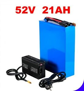 Lithium Ion Li-ion Battery 52V 20AH Rechargeable Electric E Bike Bicycle Scooter