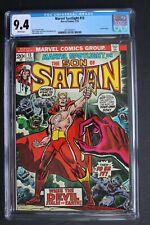 MARVEL SPOTLIGHT #13 ORIGIN 1st Color SATANA 1974 Son of Satan HULU TV CGC 9.4